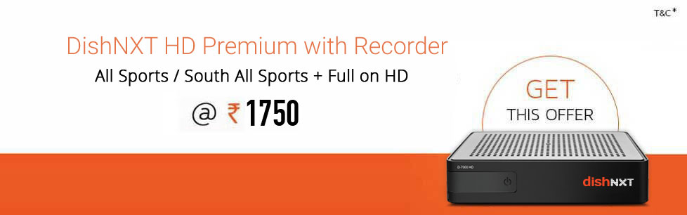 DTH HD Set Top Box with Recorder