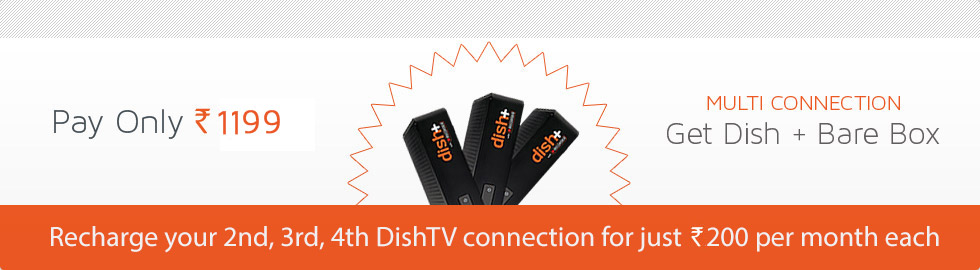 Dish TV - Multi Connection Pack